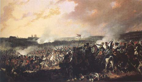Denis Dighton The Battle of Waterloo: General advance of the British lines (mk25)