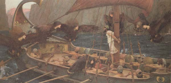 John William Waterhouse Ulysses and the Sirens (mk41)
