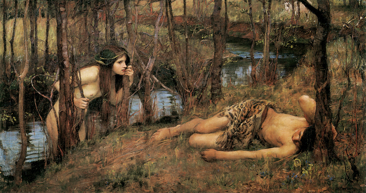 John William Waterhouse A Naiad (mk41)