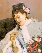 Raimundo de Madrazo y  Garreta Untitled oil painting reproduction