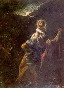 Adam  Elsheimer St.Christopher oil painting reproduction