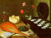 Lubin Baugin Still Life with Chessboard USA oil painting reproduction
