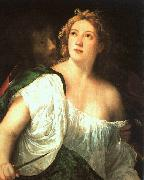 Titian Suicide of Lucretia oil painting