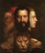 Allegory of Time Governed by Prudence,  Titian