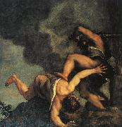 Cain and Abel,  Titian