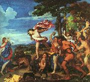 Titian Bacchus and Ariadne oil painting reproduction