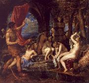 Diana and Actaeon,  Titian