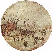 Winter Landscape with Skaters  fff, AVERCAMP, Hendrick