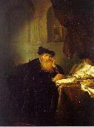 Abraham van der Hecken The Philosopher oil painting reproduction