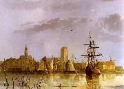 Aelbert Cuyp View of Dordrecht oil painting artist