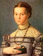 Portrait of a Young Girl with a Prayer Book, Agnolo Bronzino