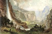 Albert Bierstadt The Domes of the Yosemites oil painting artist