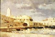 Albert Lebourg The Port of Algiers oil painting