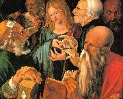 Albrecht Durer Christ Among the Doctors oil painting