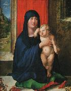 Albrecht Durer Madonna and Child_y oil painting