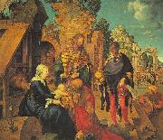 Albrecht Durer The Adoration of the Magi_z oil painting