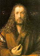 Albrecht Durer Self Portrait in a Fur Coat oil painting artist