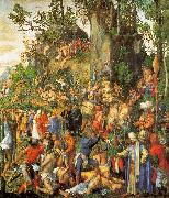 Albrecht Durer Martyrdom of the Ten Thousand oil painting