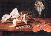 Alexander Still-Life with Fish USA oil painting reproduction