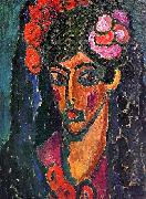Alexei Jawlensky Spanish Woman oil painting reproduction