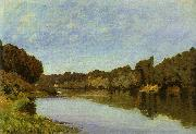 Alfred Sisley The Seine at Bougival oil painting artist