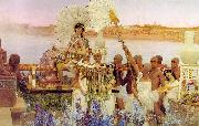 The Finding of Moses, Alma Tadema