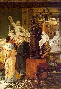 A Sculpture Gallery, Alma Tadema