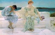 Ask Me No More, Alma Tadema