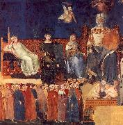 Ambrogio Lorenzetti Allegory of Good Government USA oil painting reproduction