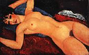 Nude (Nu Couche Les Bras Ouverts), Amedeo Modigliani