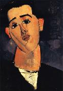Portrait of Juan Gris, Amedeo Modigliani