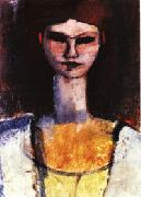 Bust of a Young Woman, Amedeo Modigliani