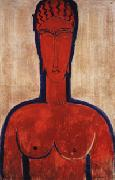Large red Bust, Amedeo Modigliani