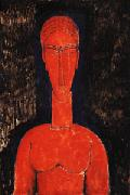 Red Bust, Amedeo Modigliani