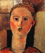 Red Haired Girl, Amedeo Modigliani