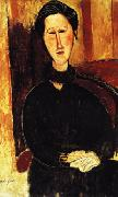 Portrait of Anna ( Hanka ) Zborowska, Amedeo Modigliani