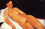 Nude with Coral Necklace, Amedeo Modigliani