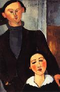 Jacques and Berthe Lipchitz, Amedeo Modigliani