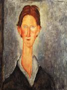 Portrait of a Student, Amedeo Modigliani
