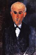 Portrait of Max Jacob, Amedeo Modigliani