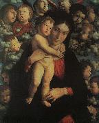 Madonna and Child with Cherubs, Andrea Mantegna