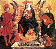 Our Lady of the Assumption with Sts Miniato and Julian, Andrea del Castagno