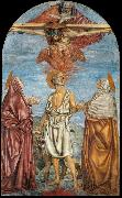 The Holy Trinity, St Jerome and Two Saints, Andrea del Castagno