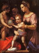 Andrea del Sarto The Holy Family with the Infant St.John oil painting