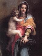 Andrea del Sarto Madonna of the Harpies (detail)  fgfg oil painting reproduction