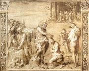Baptism of the People  ccd, Andrea del Sarto