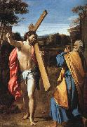 Annibale Carracci Christ Appearing to Saint Peter on the Appian Way oil painting