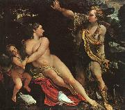 Annibale Carracci Venus, Adonis and Cupid USA oil painting reproduction
