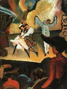 August Macke Russian Ballet I oil painting reproduction
