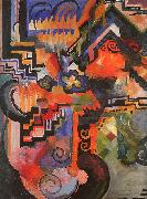 Colored Composition, August Macke